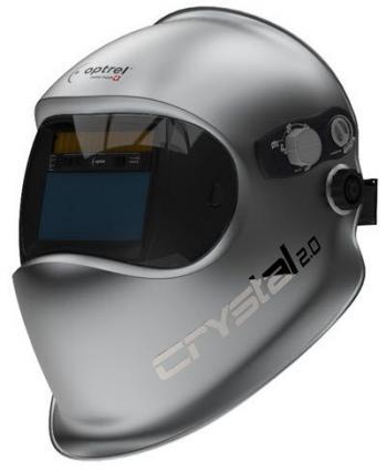 Clermont soudure partenaire optrel distributeur cagoule optrel coiffe de soudage crystal 2 0 technologie unique au monde